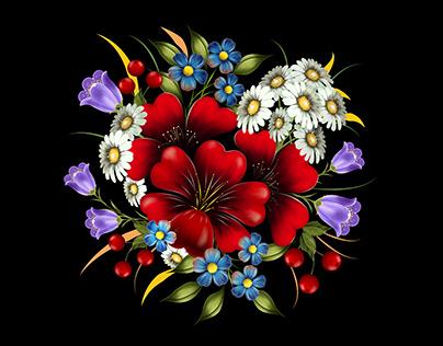Flower Decoration Nature- Color Desktop Flora