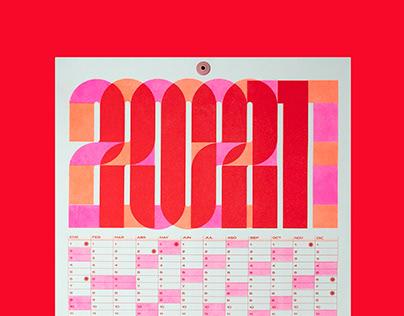 2021 Risograph CALENDAR
