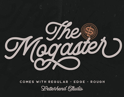 The Mogaster - Monoline Script