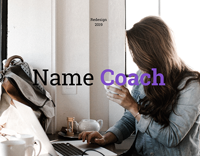 NameCoach. Website Redesign.