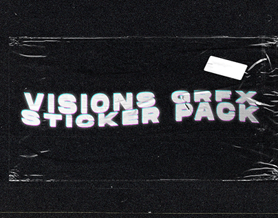 VISIONS GRFX STICKER PACK