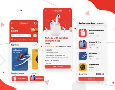 AliExpress Redesign