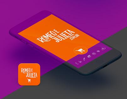 Direção de Arte para App de Compras de Supermercados