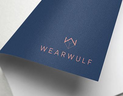 Branding design for wearwulf