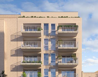 Residential apartments. Malta