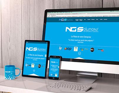 NG Solutions - Identité Visuelle