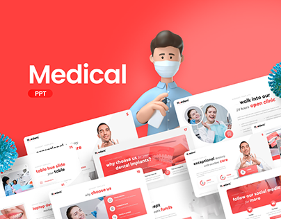 Free Medical PowerPoint Presentation Template