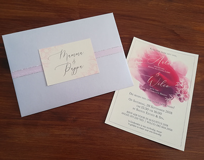 Anlee & Wilco Wedding Invitation (Print)