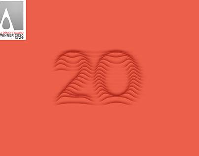 ODTU Sanat 20 Visual Identity