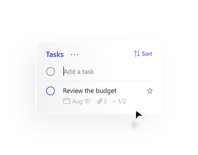 Microsoft Tasks