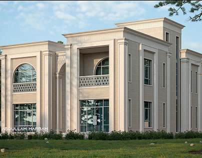 Classic villa Abu Dhabi 600 M²