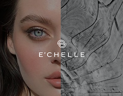 E'CHELLE LASHES LOGO REDESIGN