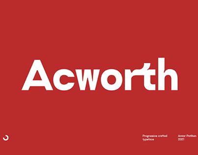 ACWORTH - FREE SANS SERIF FONT