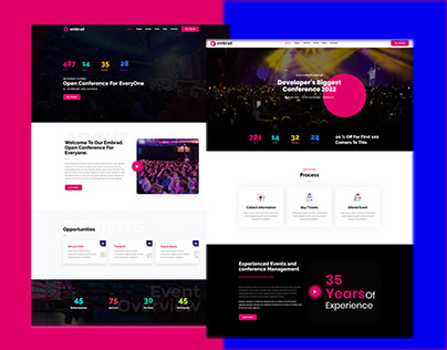 Embrad – Event & Conference WordPress Theme