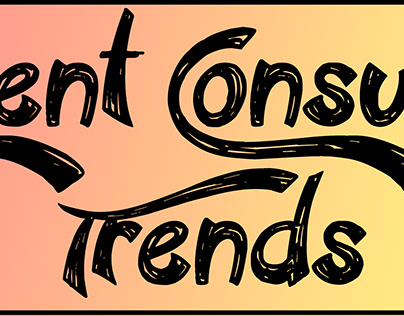 Current Consumer Trends Infographics