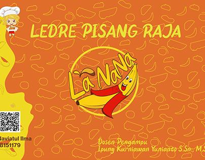 Branding UMKM Ledre Pisang Raja La NaNa Khas Solo