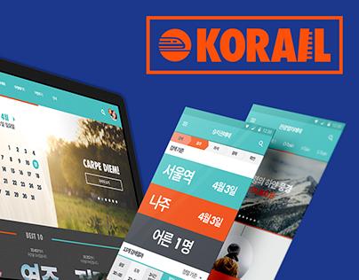 KORAIL Web Site Renovation Project