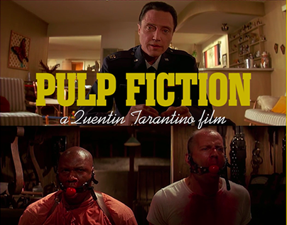 Pulp Fiction Video Poster
