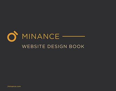 Minance Website Book