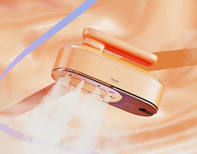 WIRELESS IRONING MACHINE