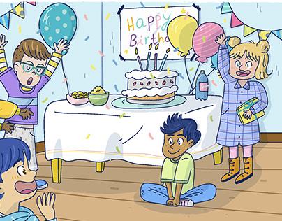 Suprise Birthday Party