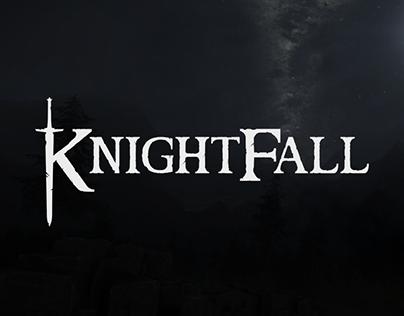 Knightfall Logo + UI