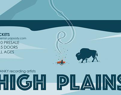 High Plains Poster — Tone Madison