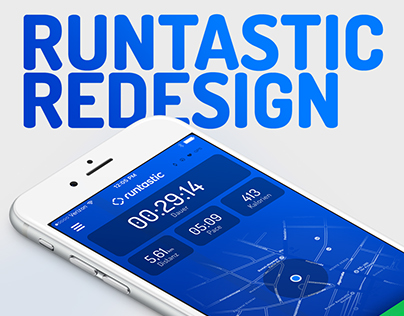 Runtastic App Redesign