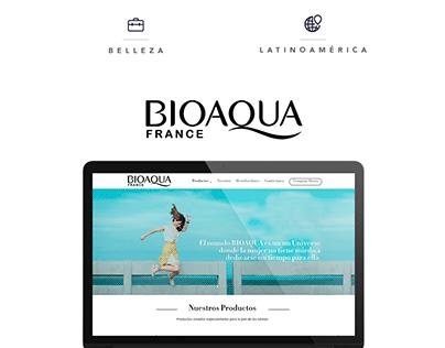 BIOAQUA - Web Design