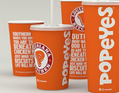 Popeyes PH Packaging Design