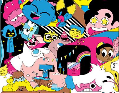 Cartoon Network - Official 2018 key art posters