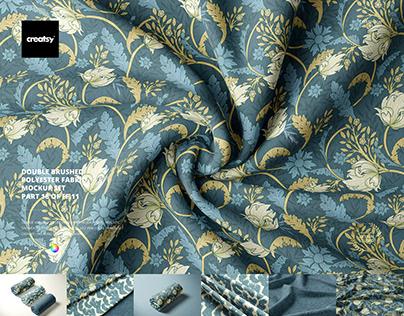 Double Brushed Polyester Fabric Mockup Set (18/FFv.11)