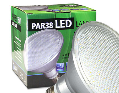 LED Paraflood packaging design