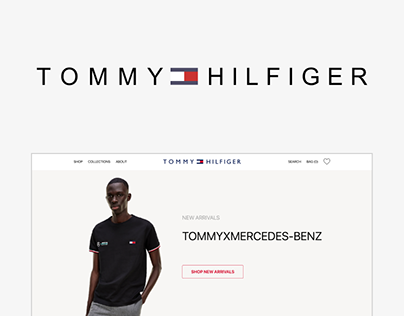 Tommy Hilfiger concept online store