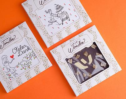 Wabi Wonder chocolate packaging