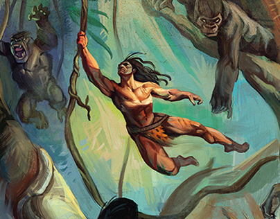 Tarzan of the Apes - MacGuffin Arts