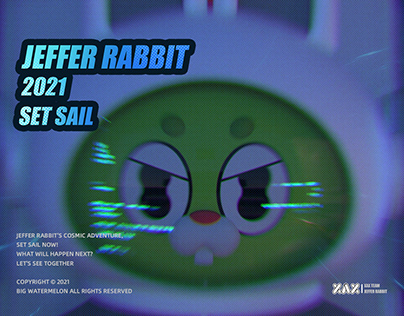 Jeffer rabbit丨杰菲兔IP形象