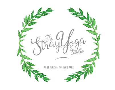 The Stray Yoga Studio Logo