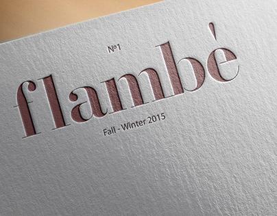 Flambè, a magazine about food