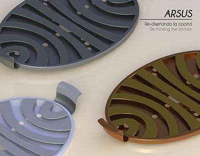 ARSUS / Asador de Cocina