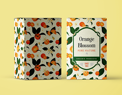 Brand Packaging - Traditional Painting