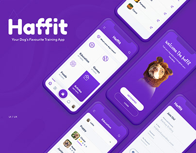 Haffit Dog Training App