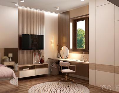 KSD project. Design for child room