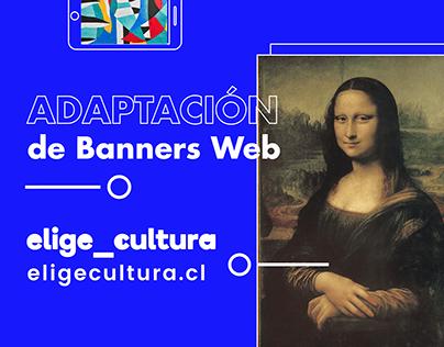 Adaptación Banners - Elige Cultura
