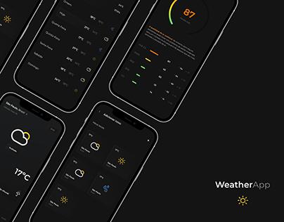 Weather Forecast App | UI Design