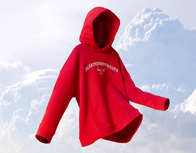 Flying Ghost 3D Mannequin