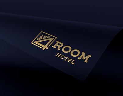 """Branding for """"4ROOM"""" Hotel"""