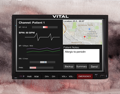 VITAL - Paramedic Assistant And Auditory Vital Tracker