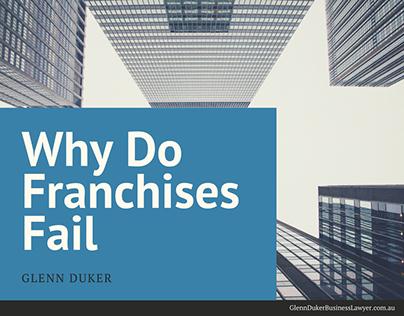 Glenn Duker on Why Do Franchises Fail