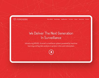 Vi Dimensions Website Redesign